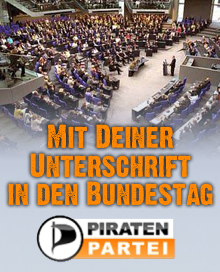 Piraten in den Bundestag
