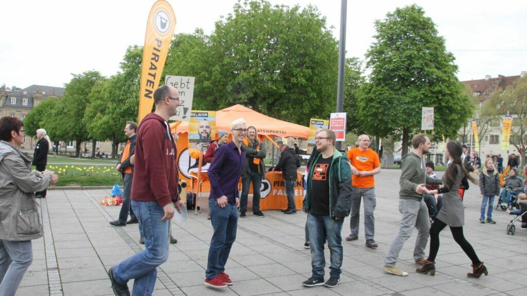 Demo gegen das Tanzverbot 2017